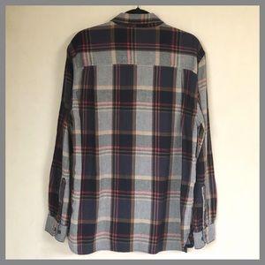 Woolrich Shirts - Woolrich Button Front Flannel Long Sleeve Shirt